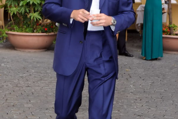 """Albert von Thurn und Taxis(son of Gloria von Thurn und Taxis) at the wedding of Prince Christian zu Fuerstenberg and Jeanettte Griesel in the """"San Salvatore in Lauro"""" church in Rome. Rome, ITALY -25/09/2010/Credit:ROLLITZ/SCHNEIDER PRESS/SIPA/1009271308 (Newscom TagID: sipaphotostwo893643) [Photo via Newscom]"""